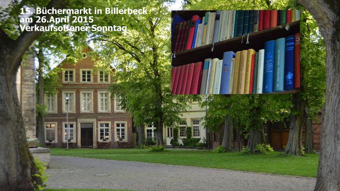 Büchermarkt Billerbeck, Veranstaltungen Verkaufsoffener Sonntag