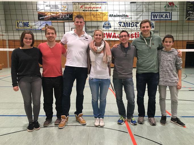 Es spielten: Eva, Markus, Flo, Eva, Tobi, Martin und Peter