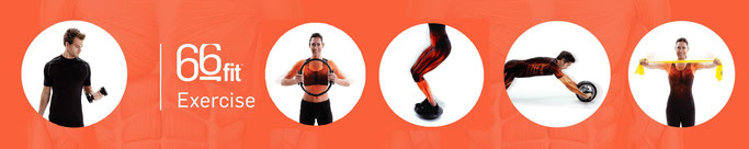 Core stability and rehabilitation exercises, using Pilates wheels, wobble boards, core wheels and therapy bands
