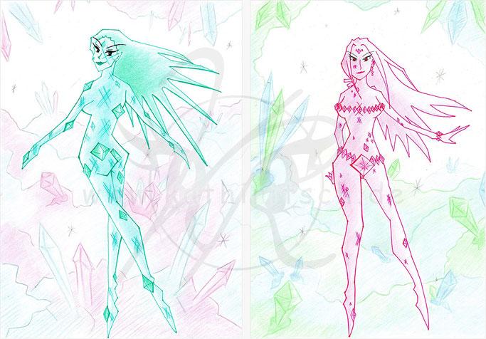Diamantenbräute - Smaragd & Rubin