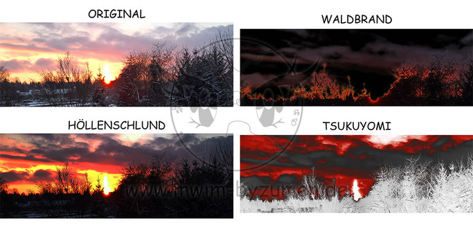 Sonnenuntergang in 4 Dimensionen