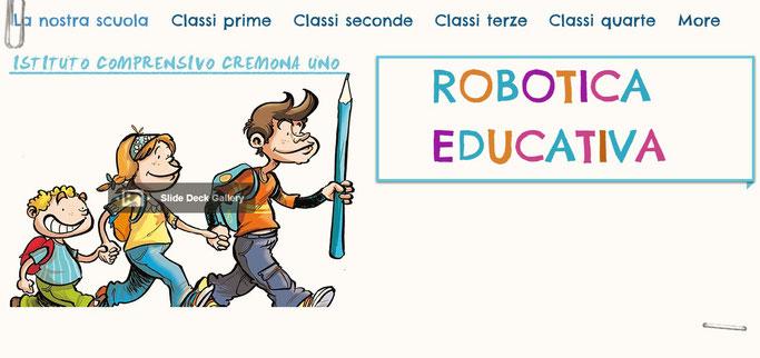 Sito di robotica educativa