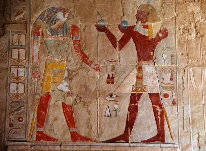Ofrenda a Horus