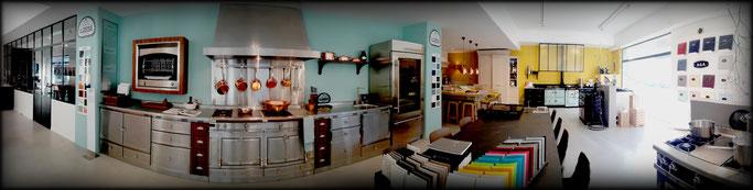 Agencement du showroom des Ateliers MALEGOL au 230 rue de St Malo à Rennes