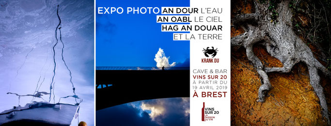 expo photo brest 2019 cave vins bar haiku poésie breton brezhoneg mer terre air