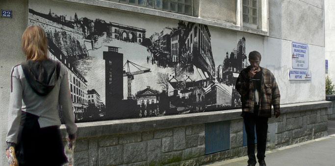 Mémoire(s) de Brest - Design - Graphisme - brest, port, guerre, avant, guerre, recouvrance, st, Martin, St, Michel, moulin, blanc, liberté, siam, mémoire, identit, carte, postales, anciens, antiquité,
