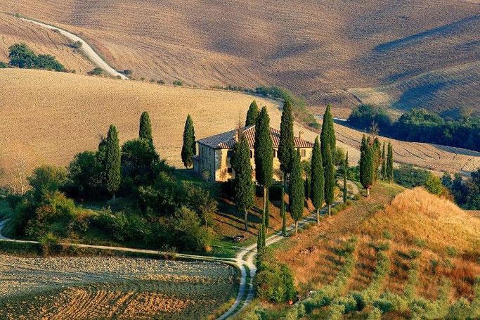 Urlaub mit dem Auto Italien Toskana