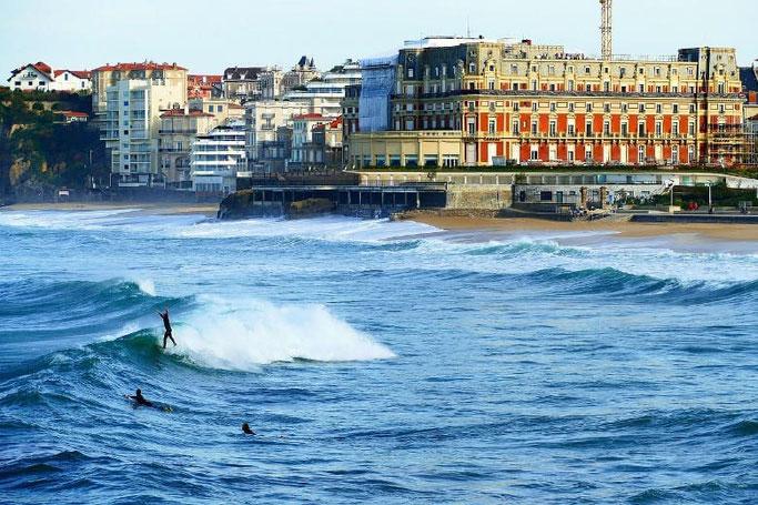 Biarritz Urlaub mit dem Auto