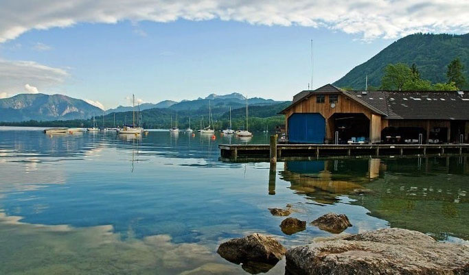 Urlaub Österreich Attersee
