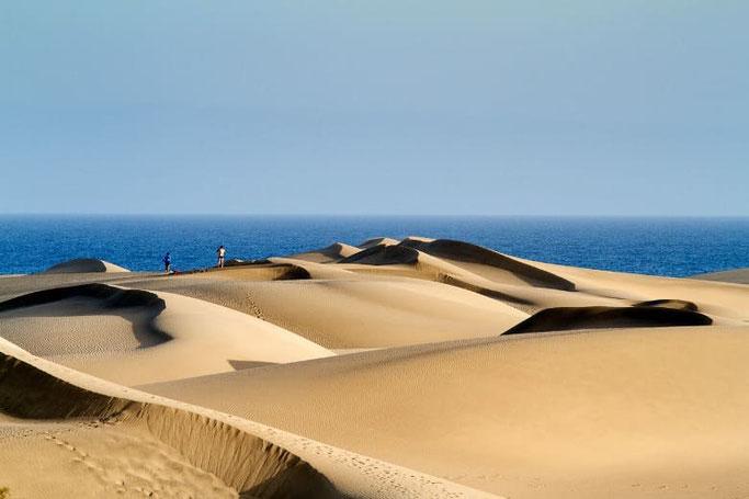 Reiseziele Europa Kanaren Grand Canaria Maspalomas Dünen