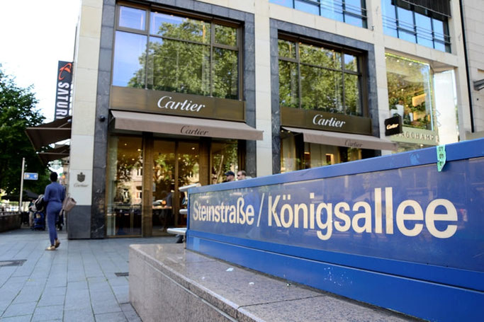 Free Walking Tour Düsseldorf Treffpunkt Cartier