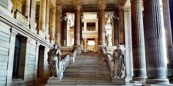 Brüssel Rundgang Justizpalast