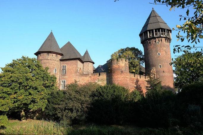 Ausflugsziele NRW Burg Linn Krefeld