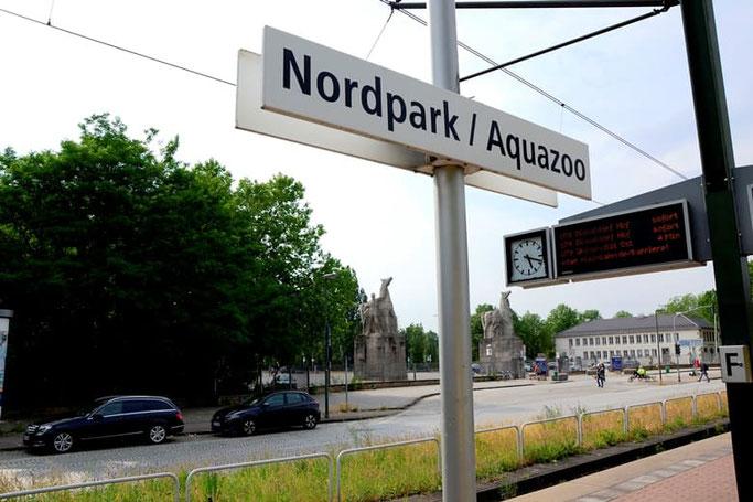 Aquazoo Düsseldorf Haltestelle
