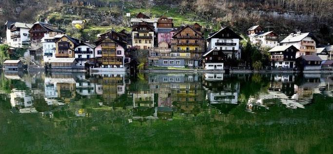 Urlaub Österreich Hallstadt