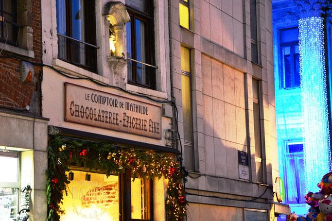 Weihnachtsgeschenke Brüssel