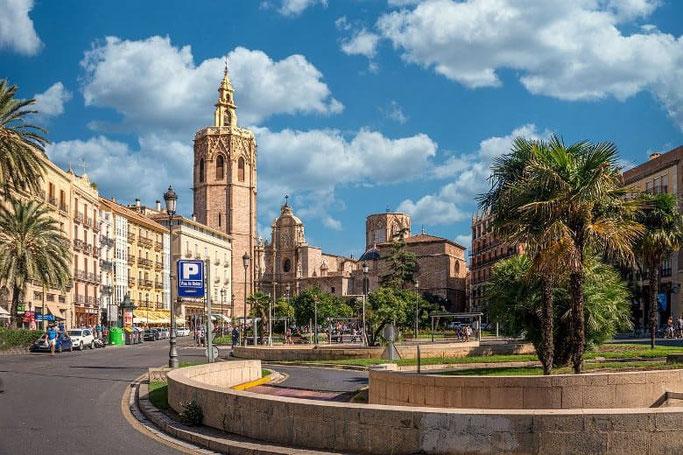 Valencia Altstadt Spanien