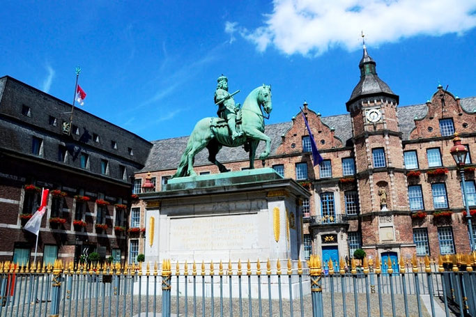 Marktplatz Düsseldorf Jan Wellem
