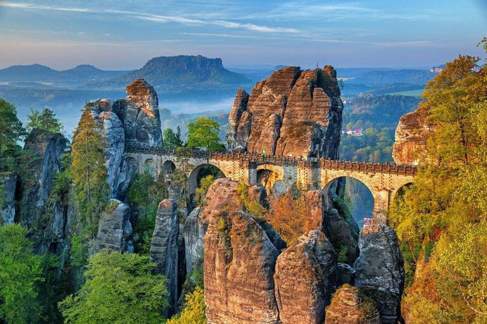 Basteibrücke Elbsandsteingebirge