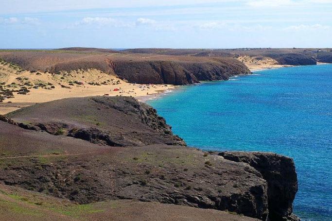 Kanaren Lanzarote Playa Mujeres