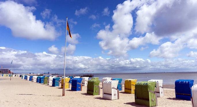 Föhr Strandkörbe