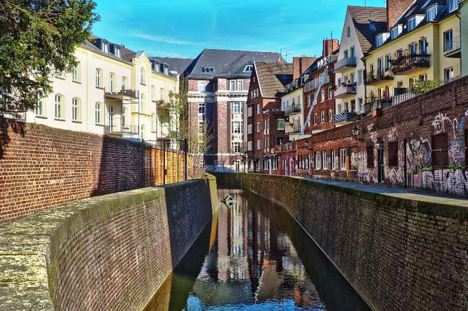 Woher kommt der Name Düsseldorf?