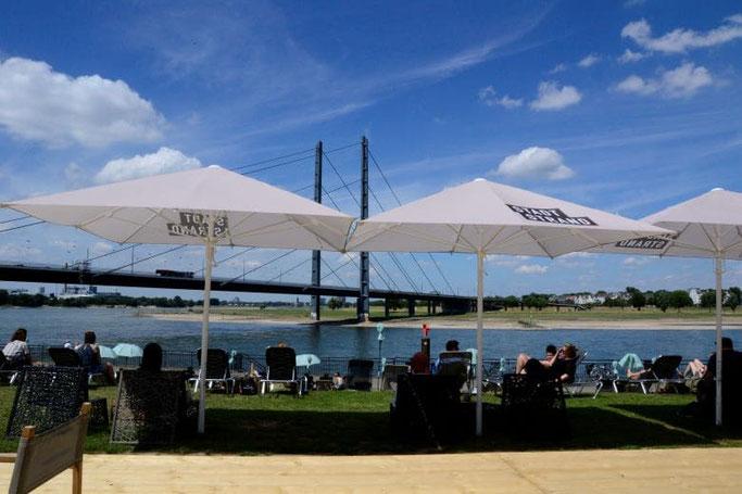 KIT Café im Sommer
