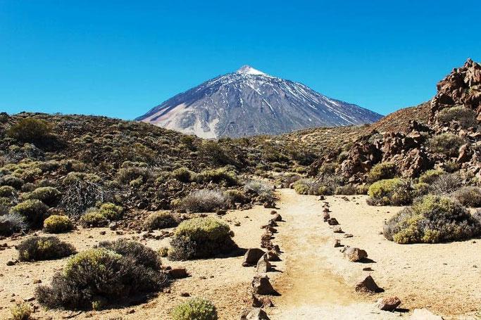 Kanaren Teneriffa höchster Berg Spanien Teide
