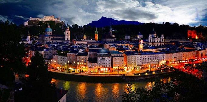 Urlaub mit dem Auto in Salzburg