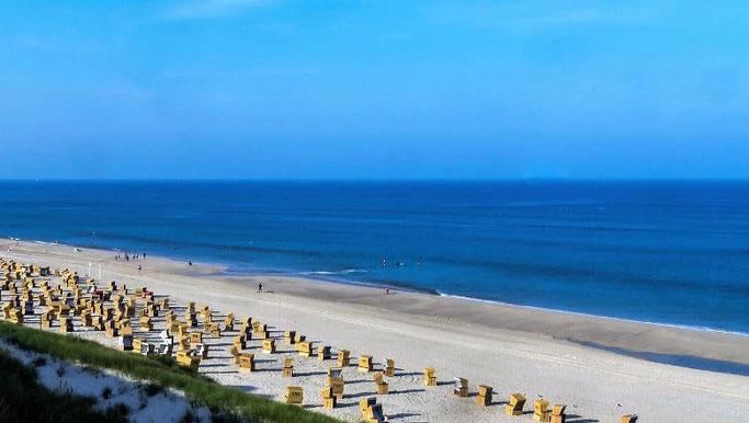 Reiseziele Sommer Sylt Strand
