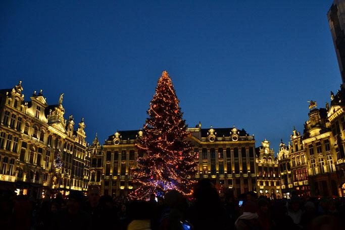 Brüssel Weihnachtsmarkt 2019 2020