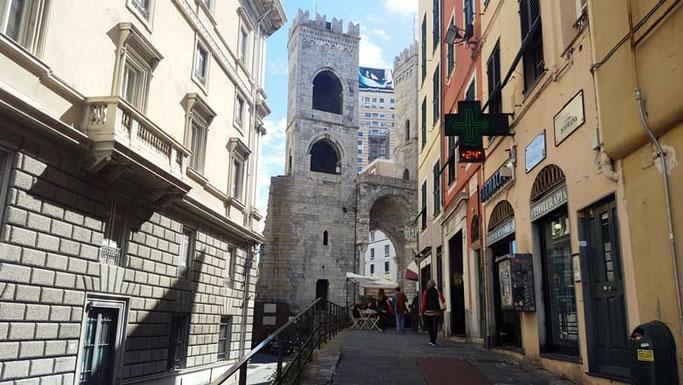 Genua Stadttor Altstadt