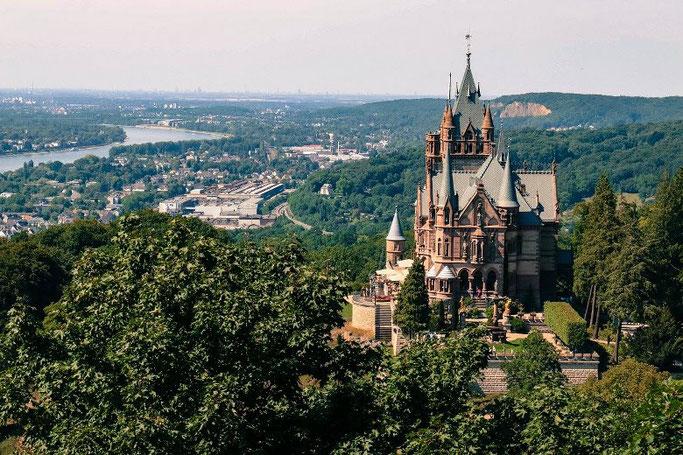 Sehenswürdigkeiten NRW Siebengebirge Drachenfels Schloss
