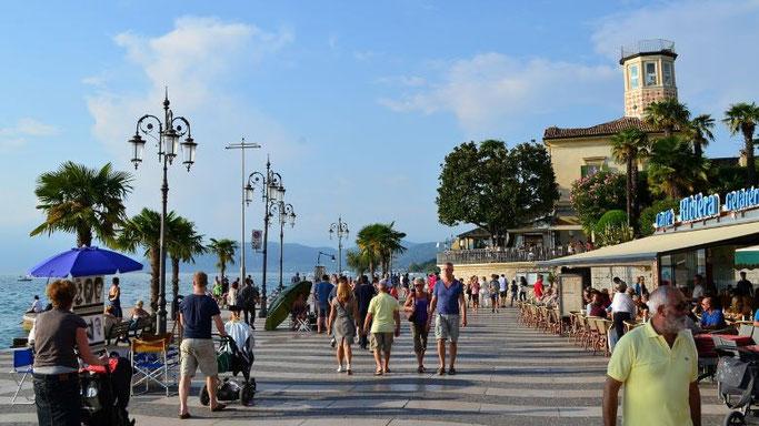 Gardasee Lazise Promenade
