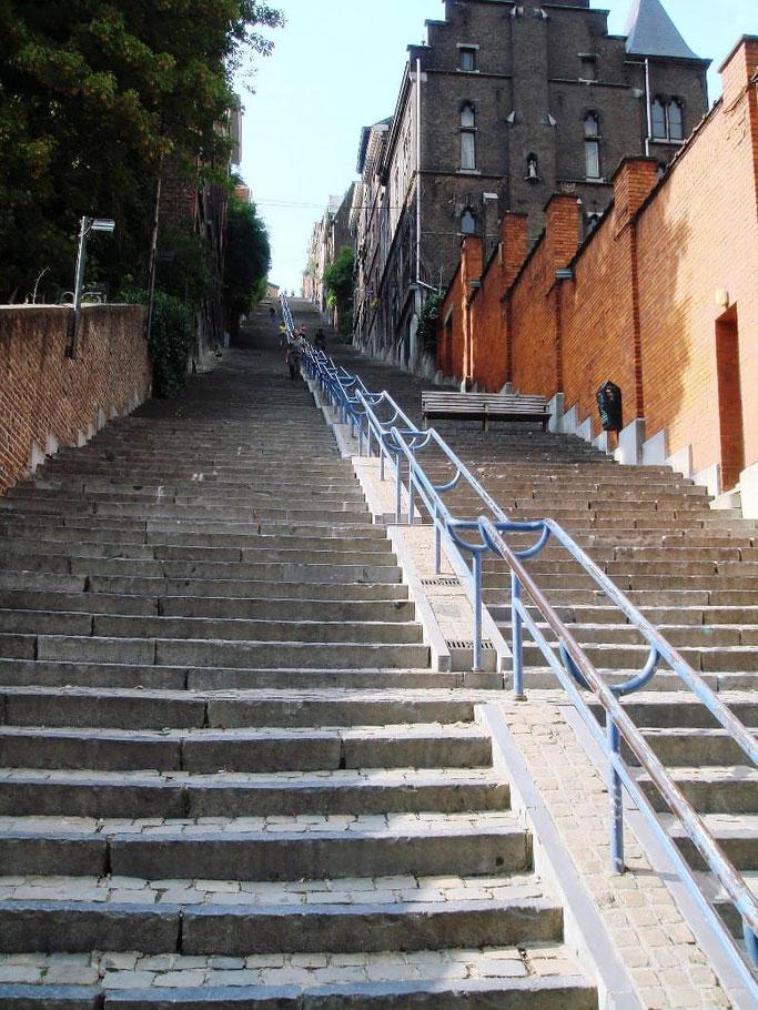 Lüttich Treppen