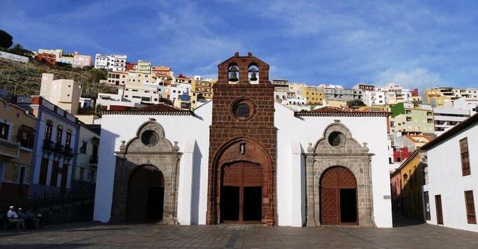 Kanaren La Gomera San Sebastián Kirche