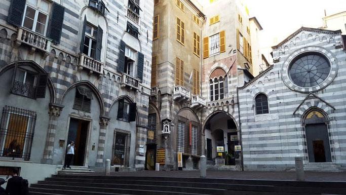 Genua Sehenswürdigkeiten Geheimtipps San Matteo