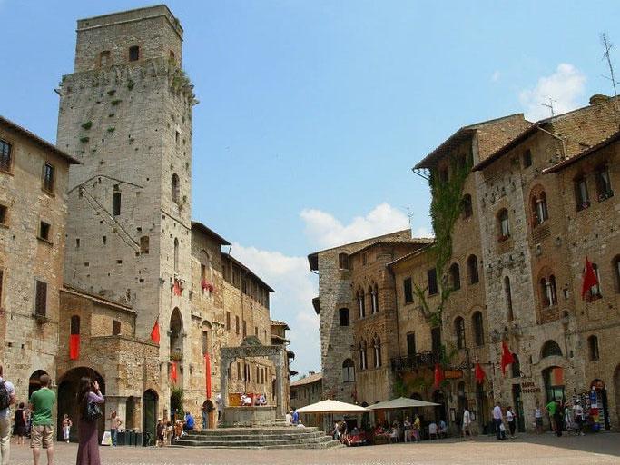 Italien Toskana San Gimignano