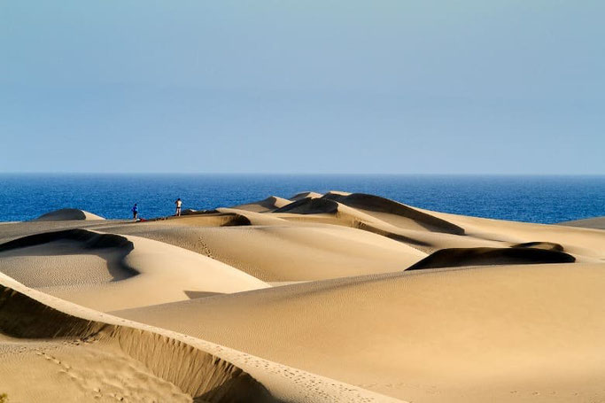 Kanaren Gran Canaria Maspalomas Dünen