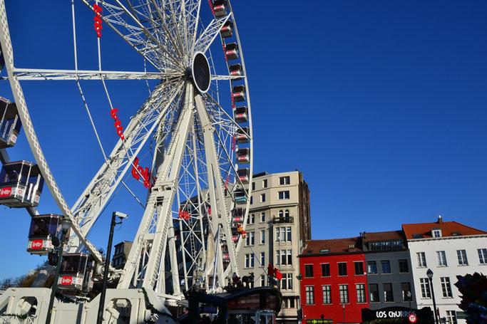Brüssel Weihnachtsmarkt Riesenrad