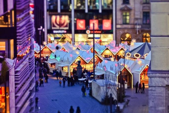 Christmas Market Düsseldorf Schadowplatz