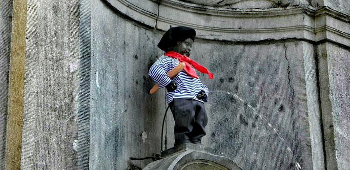 Manneken Pis Städtereise Brüssel