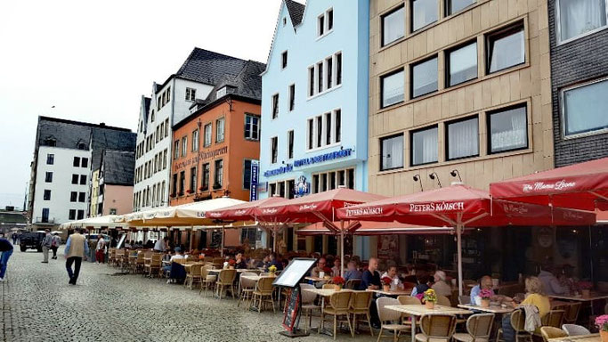 Köln Rheinufer