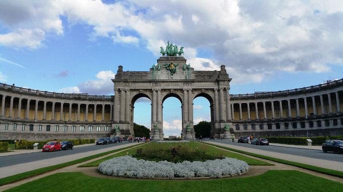 Städtereise Brüssel Jubelpark