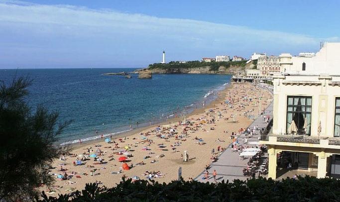 Urlaub Frankreich Biarritz