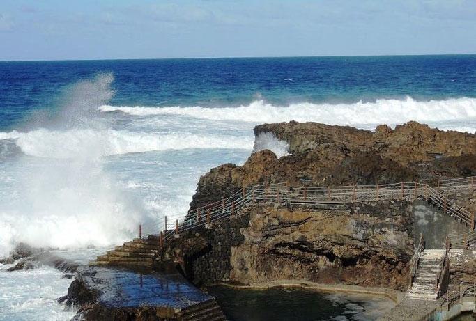 Kanaren La Palma Naturschwimmbecken