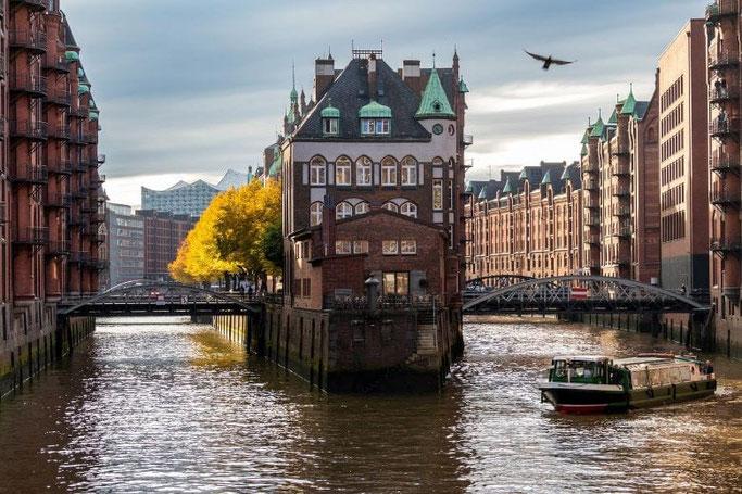 Hamburg Speicherstadt Boot