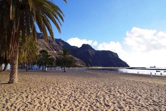 Kanaren Teneriffa Playa de las Teresitas
