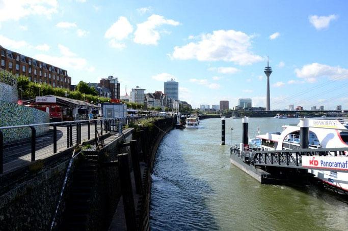 Bootsfahrt Düsseldorf