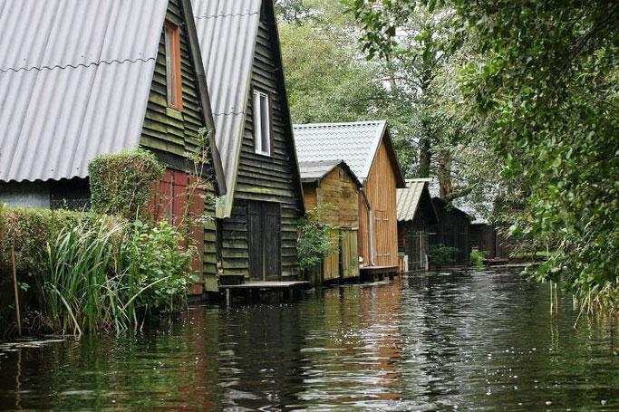 Mecklenburgische Seenplatte Bootshaus